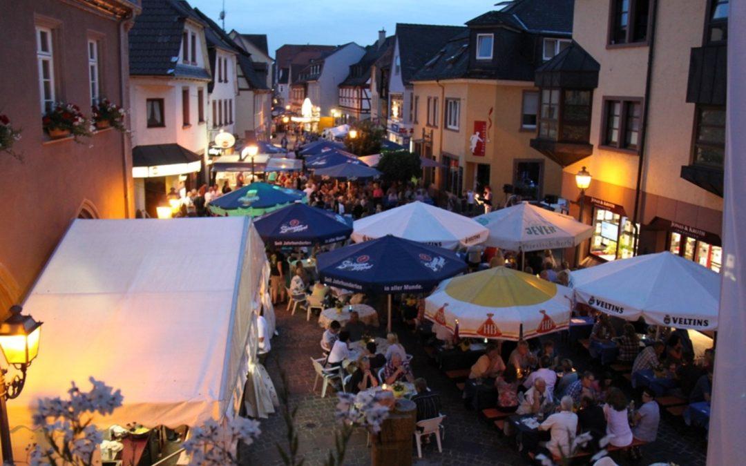 Altstadtfest – mit SUSA am Samstag